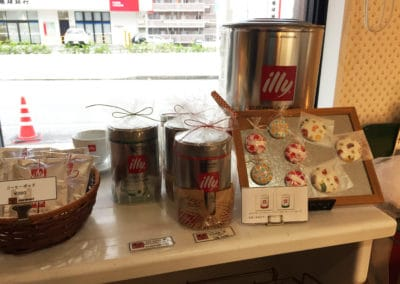 Illy Coffee Display