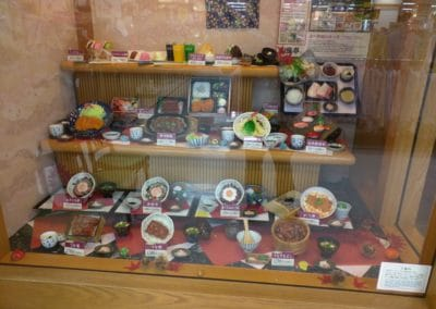 Wafutei Display Food