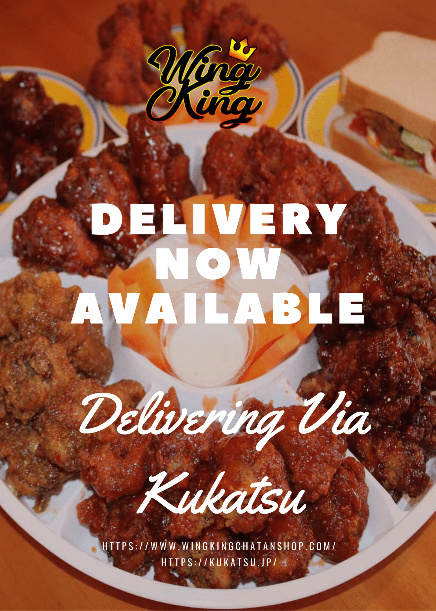 Wing King Delivery Flyer
