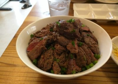 Deka-mori steak bowl