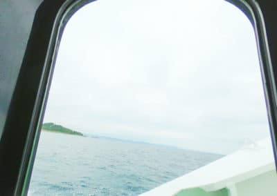 Speed Boat to Kudaka Island