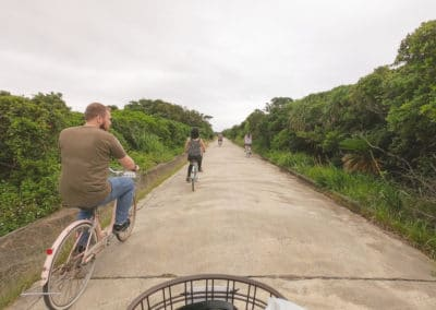 Rent a Bike to explore Kudaka Island