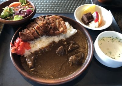 Kafuu Curry and Tonkatsu