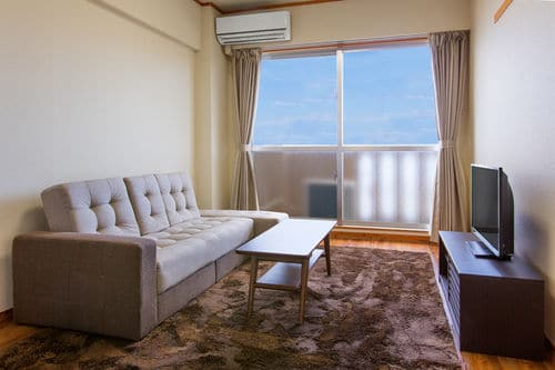 Living room at Okinawa Temporary Lodging