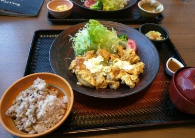 Chicken Nanban Set meal at Ootoya