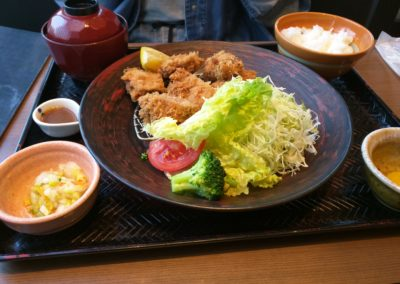 Karage Set meal at Ootoya