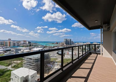 View from Family Condo Chatan Hills
